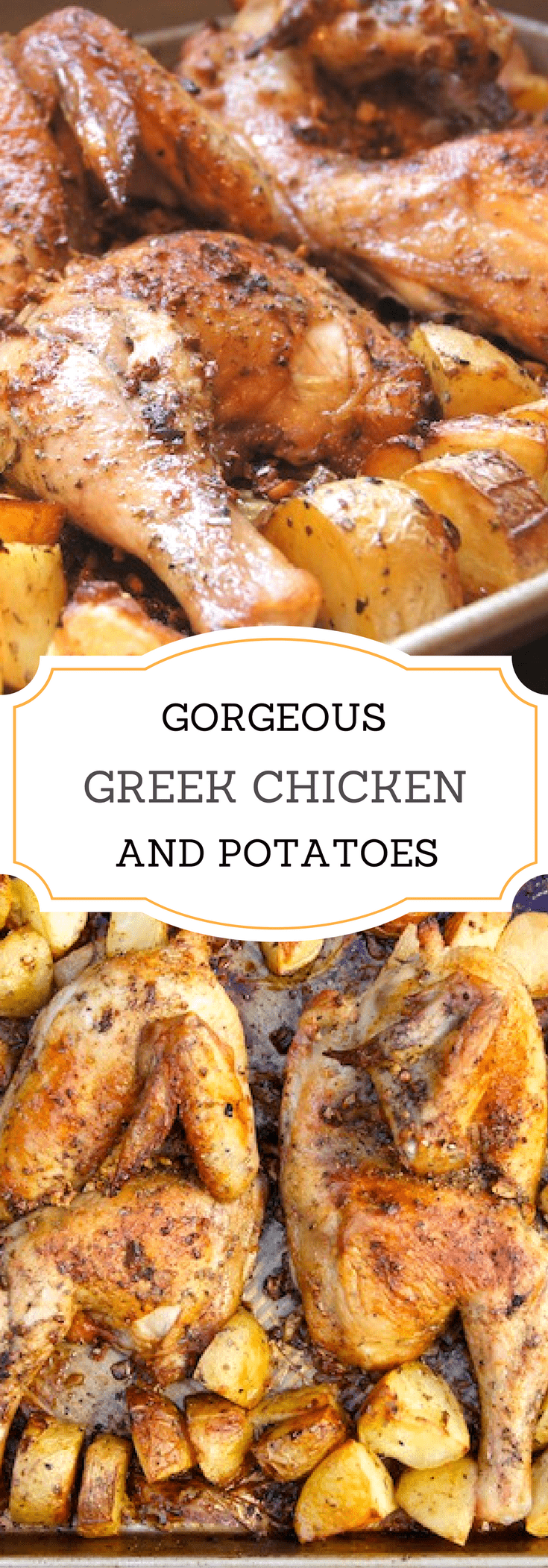 Best Greek Chicken And Potatoes With Lemon Garlic And