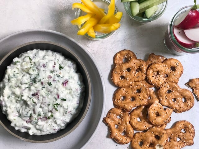 Easy Cottage Cheese Dip
