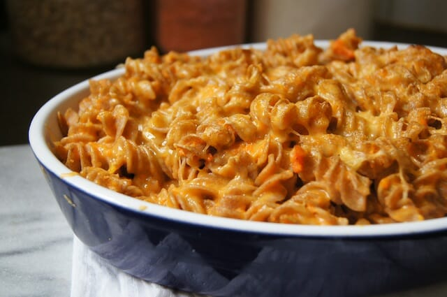 Creamy Carrot Mac and Cheese