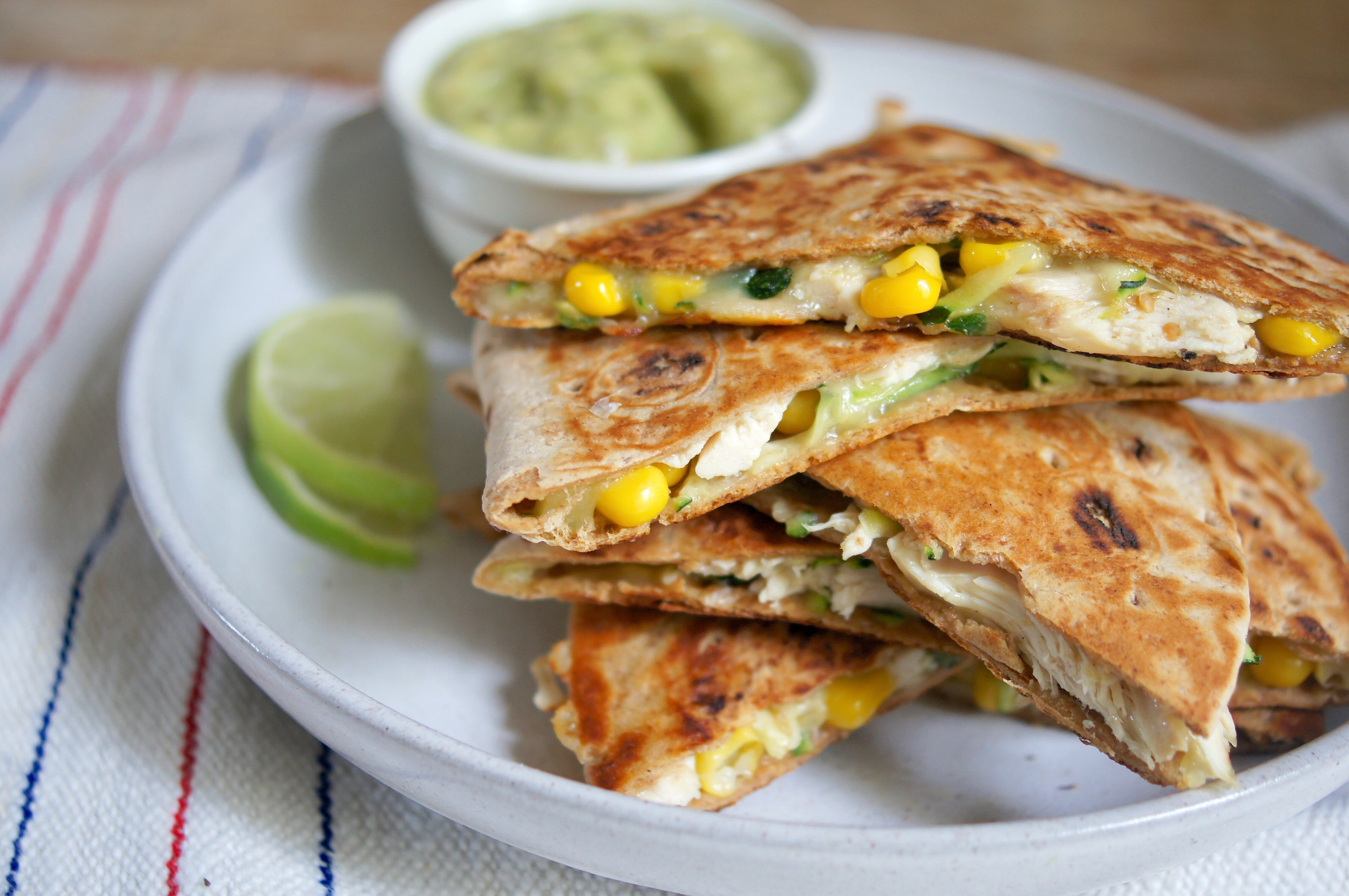 Healthy Chicken Quesadillas are Loaded with Vegetables ...