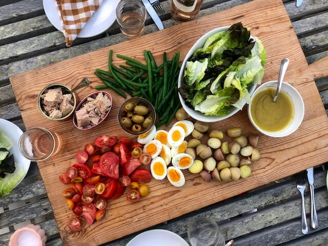 Nicoise Salad Bar