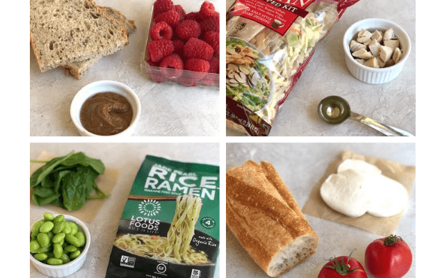 3 ingredient lunches for kids and adults